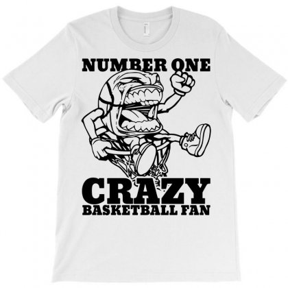 Number One Crazy Basketball Fan T-shirt Designed By Tee Shop