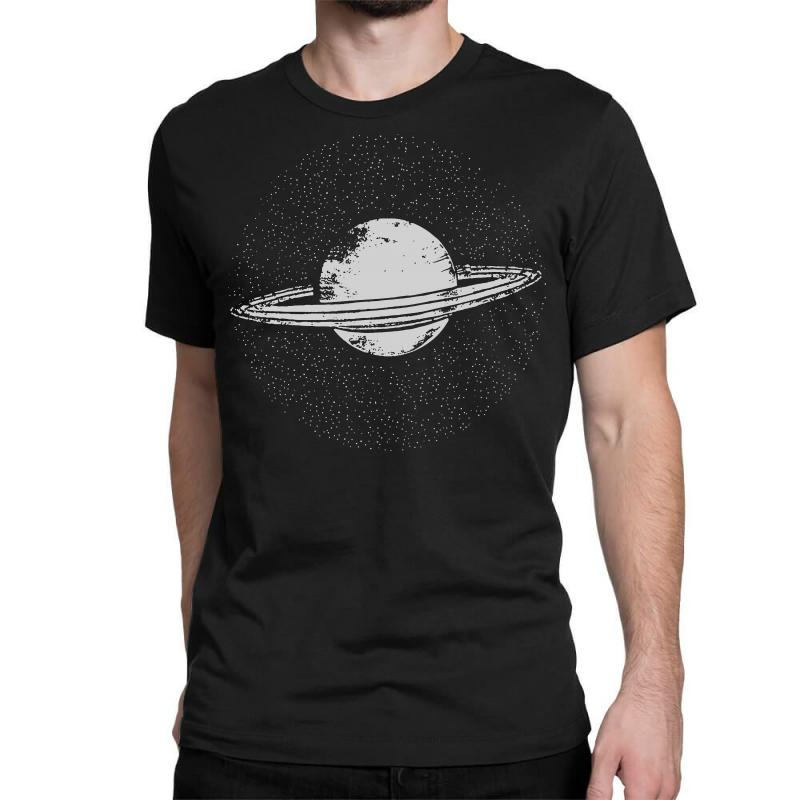 53fe3ef9e Custom Planet Saturn T Shirt Solar System Shirt Geek T Shirts Science  Fiction Classic T-shirt By Tee Shop - Artistshot