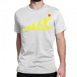 evolution lego basketball sports funny Classic T-shirt | Artistshot