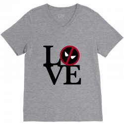 love deadpool for light V-Neck Tee | Artistshot
