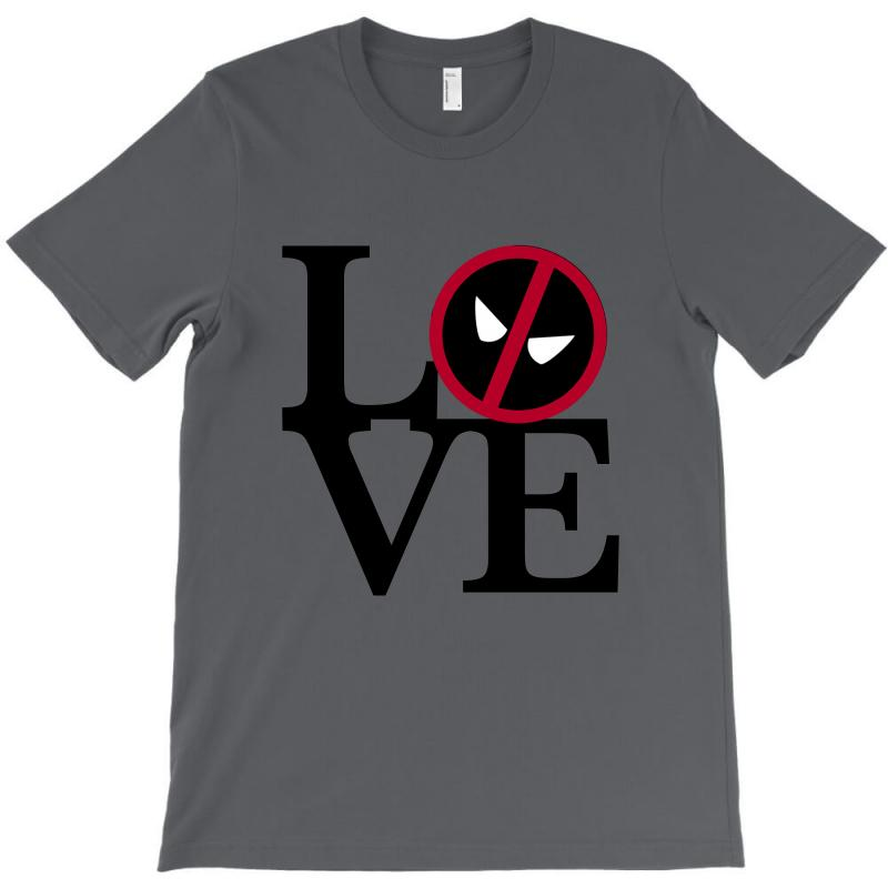 Love Deadpool For Light T-shirt | Artistshot