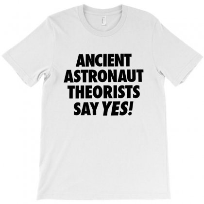 Ancient Astronaut Theorists Say Yes For Light T-shirt Designed By Sengul