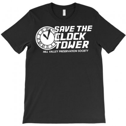 Save The Clock Tower Funny T-shirt Designed By Tee Shop