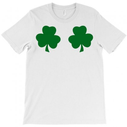 St Patricks Day Irish Paddys Funny Design Ireland Beer Shamrock Boobs T-shirt Designed By Tee Shop