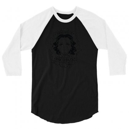 Anna Molly Incubus 3/4 Sleeve Shirt Designed By R1sm4n
