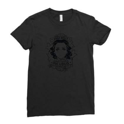 Anna Molly Incubus Ladies Fitted T-shirt Designed By R1sm4n