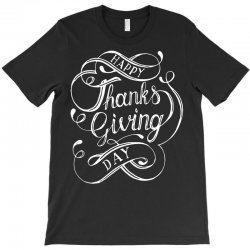 thanks giving day fun lettering T-Shirt | Artistshot