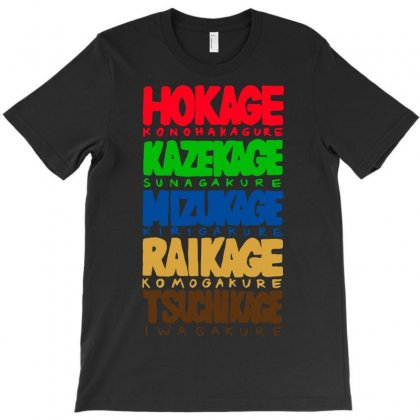 The 5 Kage T-shirt Designed By Tee Shop