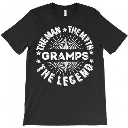 The Man The Myth The Legend For Gramps T-shirt Designed By Tee Shop