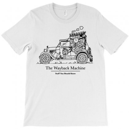 The Wayback Machine T-shirt Designed By Tee Shop