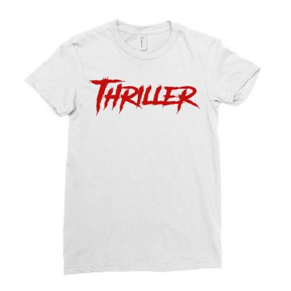 Thriller Ladies Fitted T-shirt Designed By Tee Shop