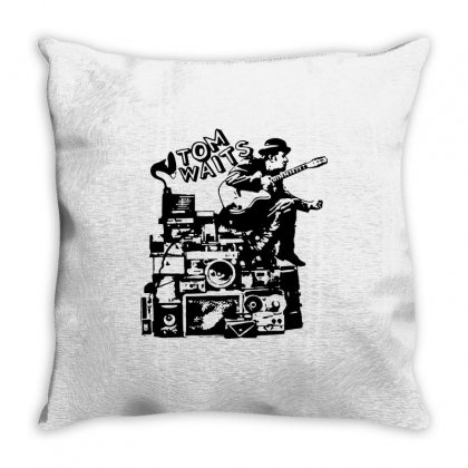 Tom Waits T Shirt Vintage Tom Waits Shirt Vintage Band Tees Cool Piano Throw Pillow Designed By Tee Shop