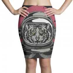 wild space Pencil Skirts | Artistshot