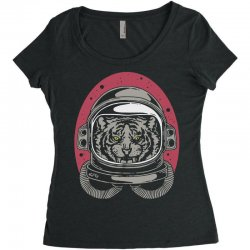 wild space Women's Triblend Scoop T-shirt | Artistshot
