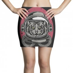 wild space Mini Skirts | Artistshot