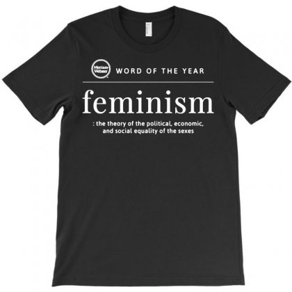 Word Of The Year 2019 Feminism T-shirt Designed By Tee Shop