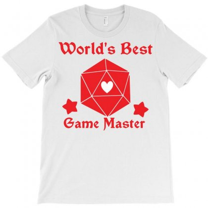 World's Best Game Master T-shirt Designed By Tee Shop