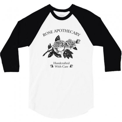 Rose Apothecary For Light 3/4 Sleeve Shirt Designed By Zeynepu