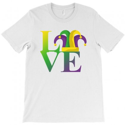 Love Mardi Gras T-shirt Designed By Sengul