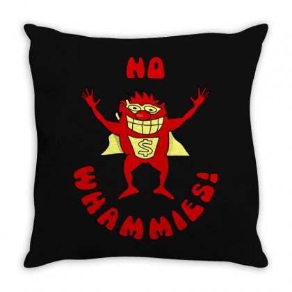 No Whammies Throw Pillow Designed By Luisother