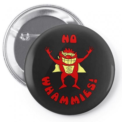 No Whammies Pin-back Button Designed By Luisother