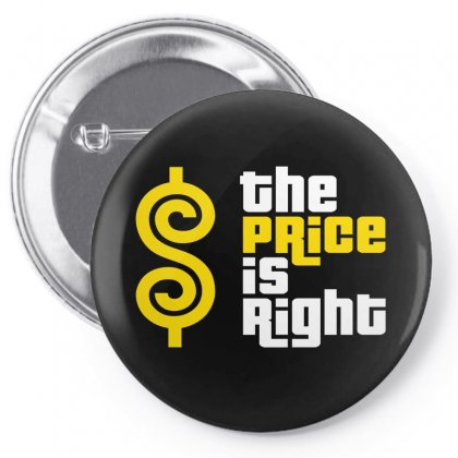 Price Is Right Pin-back Button Designed By Luisother