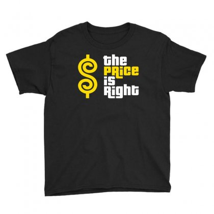 Price Is Right Youth Tee Designed By Luisother
