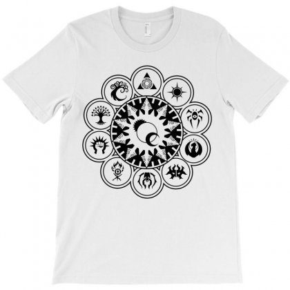Magic Gathering Guild Black T-shirt Designed By Luisother