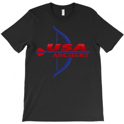 Usa Archery T-shirt Designed By Luisother