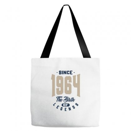 I Born In 1964 Tote Bags Designed By Ale C. Lopez