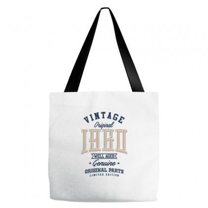 I Born In 1960 Tote Bags Designed By Ale C. Lopez