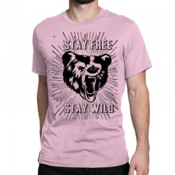 Stay Free Stay Wild Classic T-shirt | Artistshot