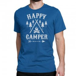 happy camping Classic T-shirt | Artistshot