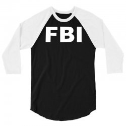 fbi 3/4 Sleeve Shirt | Artistshot