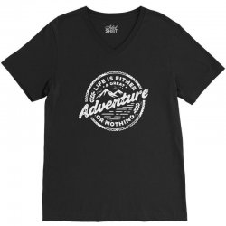 adventure V-Neck Tee | Artistshot