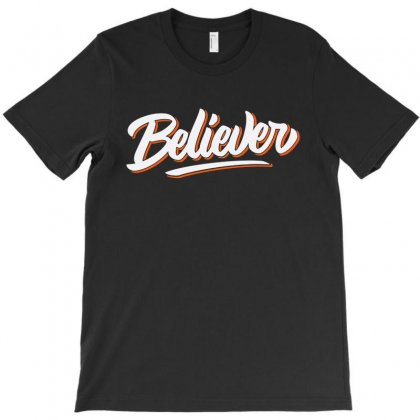 Believer T-shirt Designed By Blqs Apparel