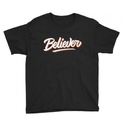 Believer Youth Tee Designed By Blqs Apparel