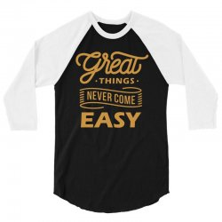 great things 3/4 Sleeve Shirt | Artistshot