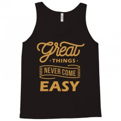 great things Tank Top | Artistshot