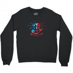 happy president's day Crewneck Sweatshirt | Artistshot