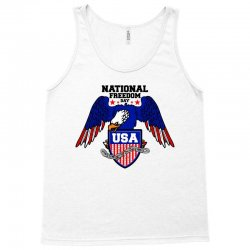 national freedom day for light Tank Top | Artistshot
