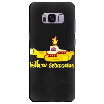 Yellow Submarine Samsung Galaxy S8 Plus Case Designed By Slalomalt