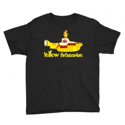 Yellow Submarine Youth Tee Designed By Slalomalt
