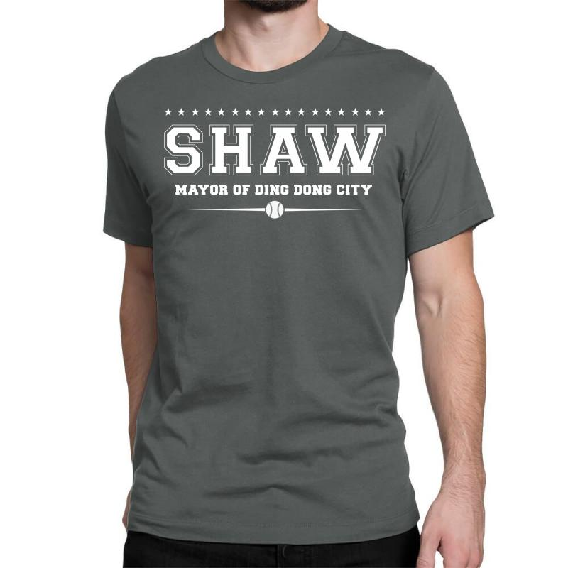 Travis Shaw, Mayor Of Ding Dong City Classic T-shirt | Artistshot