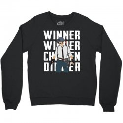 winner chicken dinner Crewneck Sweatshirt | Artistshot