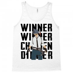 winner chicken dinner (black) Tank Top | Artistshot