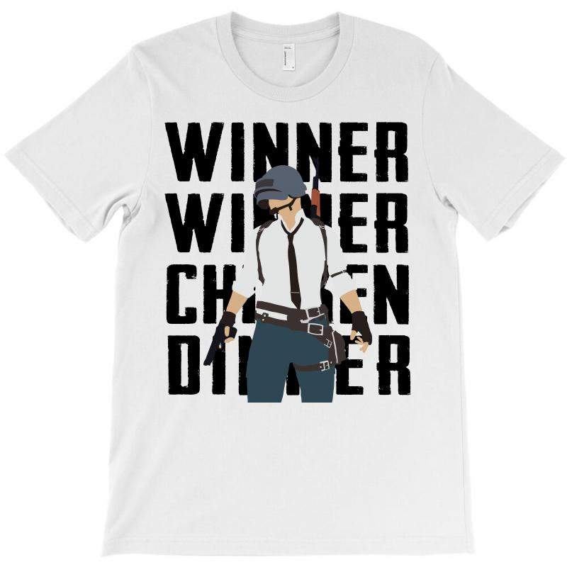 Winner Chicken Dinner (black) T-shirt | Artistshot