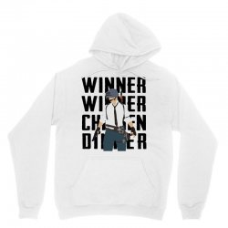 winner chicken dinner (black) Unisex Hoodie | Artistshot