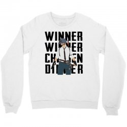 winner chicken dinner (black) Crewneck Sweatshirt | Artistshot