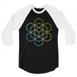 hexagradient 3/4 Sleeve Shirt | Artistshot